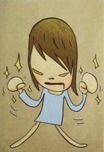 奈良美智「Fight」