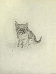 藤田嗣治「猫の本 アヒノア」