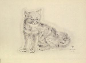 藤田嗣治「猫の本 アラシェル」