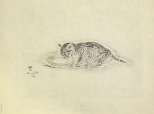 藤田嗣治「猫の本 エプラス」