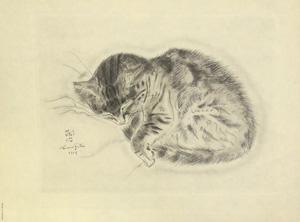 藤田嗣治「猫の本 ハラス」