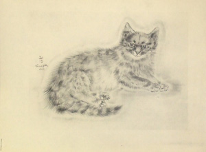 藤田嗣治「猫の本 ミラハ」