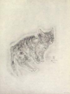 藤田嗣治「猫の本 ソミリス」