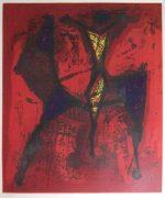 マリノ・マリーニ「騎士1」銅版画49×41cm