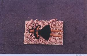 細江英公「草間彌生ハプニング#1 NY 1964年」写真