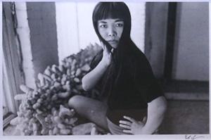 細江英公「草間彌生ポートレート 1964年 NY」写真
