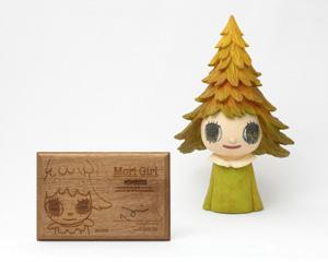 奈良美智「森ガール」彫刻