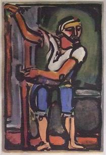 ジョルジュ・ルオー「漁夫」銅版画