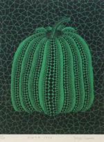 草間彌生「かぼちゃ(GT)」シルクスクリーン29.8×22.8cm