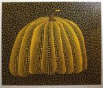草間彌生「かぼちゃ(黄Y)」版画60.4×72.3cm