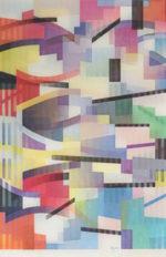 ヤコブ・アガム「Untitled1」アガモグラフ55.2×36.2cm