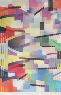ヤコブ・アガム「Untitled1」アガモグラフ