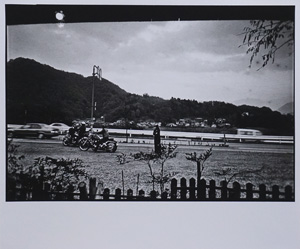 森山大道「山梨県 1997年」写真