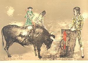 ジャンセン「Grand Taureau」版画