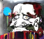 村上隆「我、光源への道・・・」版画72×83.4cm