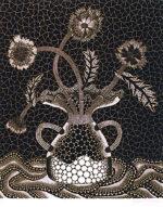 草間彌生「花 FW」シルクスクリーン72.7×60.6cm