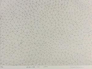 草間彌生「無限の網(B)」銅版画