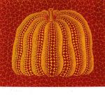 草間彌生「かぼちゃ(RY)」シルクスクリーン27×32.5cm