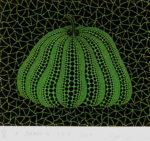 草間彌生「かぼちゃGB-D」版画24×28.5cm