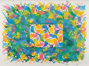 堂本尚郎「Untitled」版画