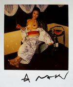 荒木経惟「浴衣の女」写真8×7.6cm