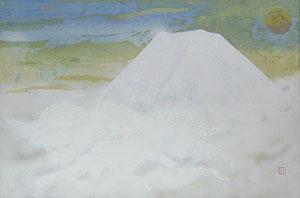 奥村土牛「聖」木版画