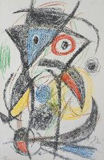 ジョアン・ミロ「Les Demeures d'Hypnos」版画49×32cm