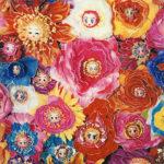 鎌谷徹太郎「Flower Face 4」アクリルS4号