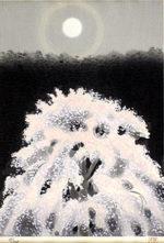東山魁夷「京の春」木版画32×22.4cm
