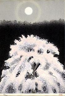 東山魁夷「京の春」木版画