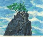 東山魁夷「青濤」版画38×46cm