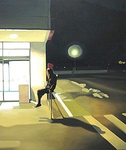 鈴木雅明「light」油彩