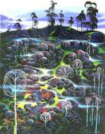 アイベン・アール「ザ・サーレム」版画76×56cm