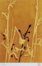 東山魁夷「季の詩(11月)」版画24×16.5cm