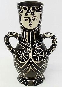 パブロ・ピカソ「花瓶」セラミック