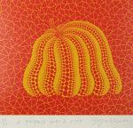 草間彌生「かぼちゃYOR-A」版画24×28.5cm