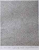 草間彌生「無限の網」銅版画22.5×18.5cm