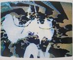 ナム・ジュン・パイク「アレン・ギンズバーグ」版画56×71.7cm