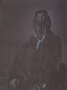 ヴンダーリッヒ「Portrait de Monsieur Bertin」版画