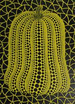 草間彌生「南瓜」キャンバスにアクリルSM 2003年