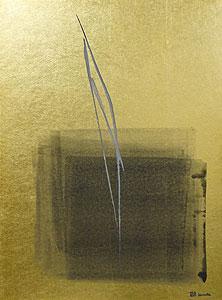 篠田桃紅「微々」日本画