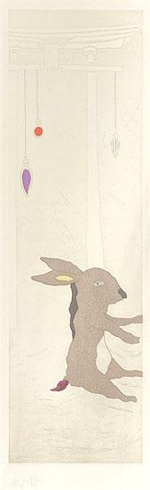ミヤケマイ「春の光 NEW LIGHT-春夏秋冬より-」銅版画 2010年