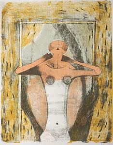 ルフィーノ・タマヨ「女性のトルソ」版画