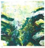 ザオ・ウーキー「Composition」版画43×41cm
