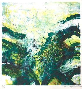 ザオ・ウーキー「Composition」版画