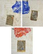 ジェームス・コワニャール「白の混乱」版画57.5×45.5cm
