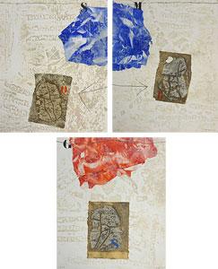 ジェームス・コワニャール「白の混乱」版画