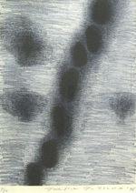 辰野登恵子「作品-1996」銅版画37×27.5cm