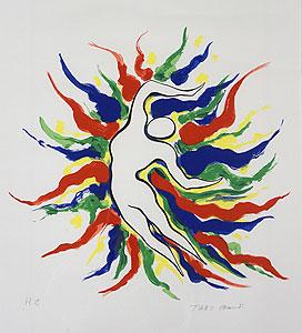 岡本太郎「作品」版画