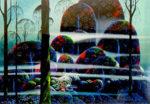 アイベン・アール「森」版画64×95.5cm